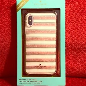 Kate Spade iPhone case for iPhone Xs and X